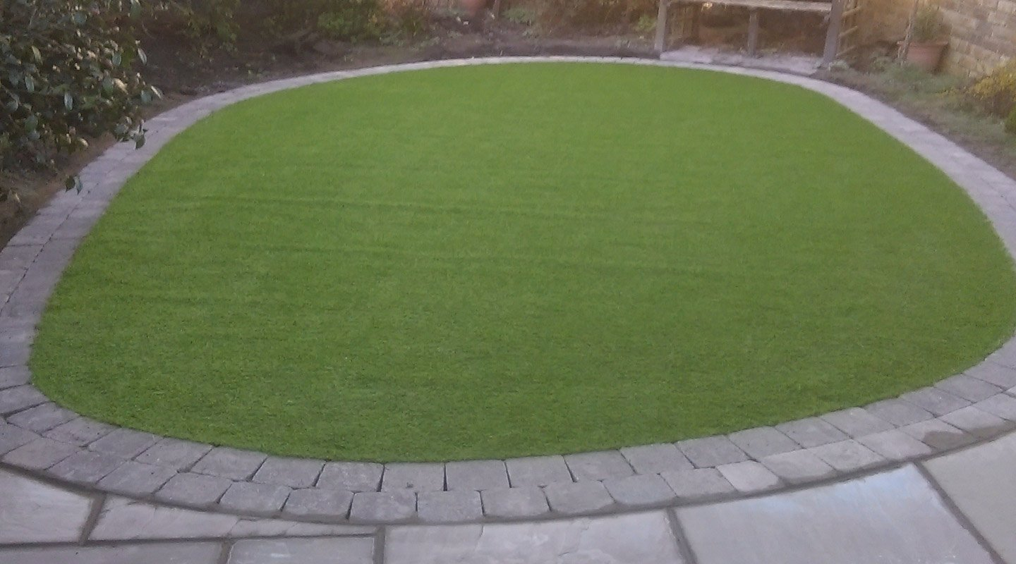 View of a Landscaping with pavings