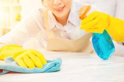 pulizia superfici