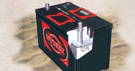 Automotive starter batteries