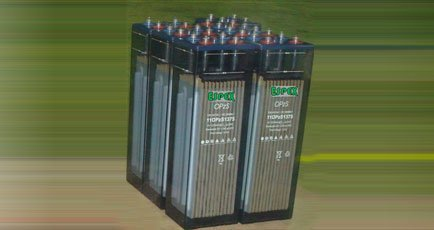 Standby power batteries