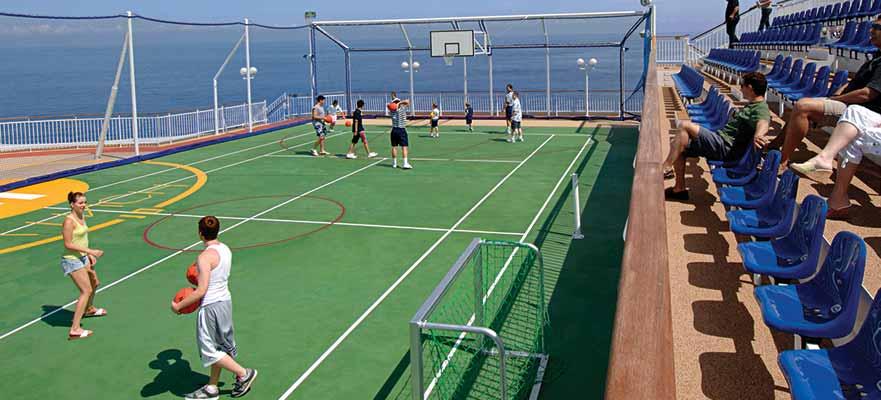 Norwegian Jade - Aktivitäten - Basketball