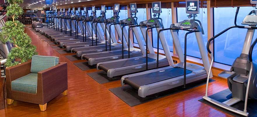 Norwegian Jade - Aktivitäten - Fitnesscenter