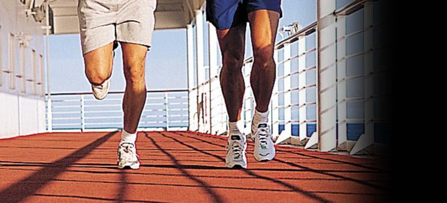 Norwegian Jade - Aktivitäten - Jogging/Walking