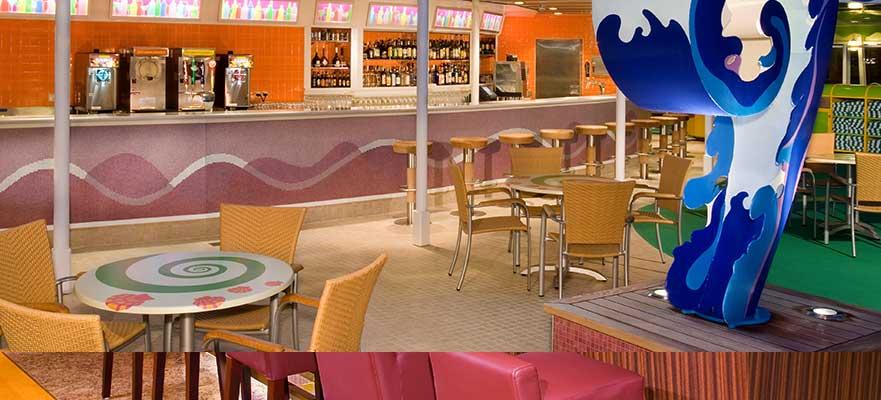 Norwegian Jade - Dining - Topsiders Bar und Grill