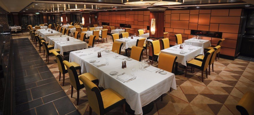 Norwegian Jade - Spezialitätenrestaurant - Cagney´s Steakhouse