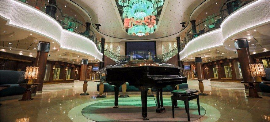Norwegian Jade - Bar und Lounges - Atrium Café & Bar