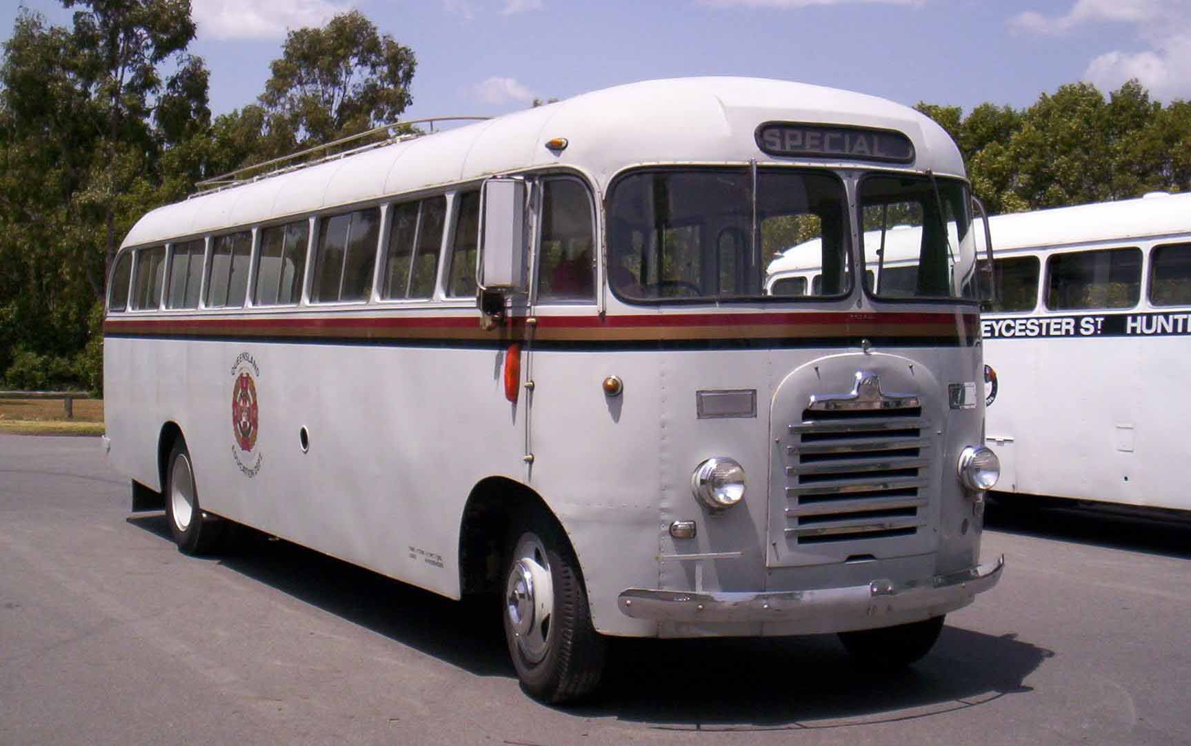 Bus after its service and repair