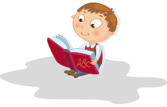 graphic of child reading