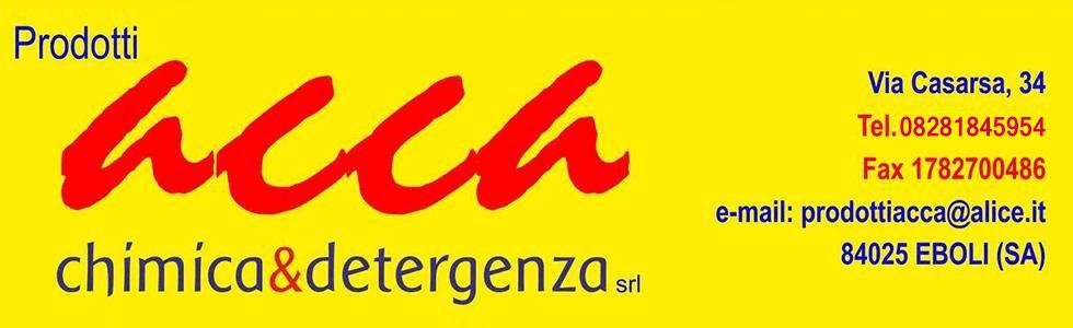 PRODOTTI ACCA CHIMICA & DETERGENZA SRL