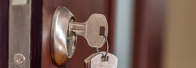 chiave inserita nella serratura