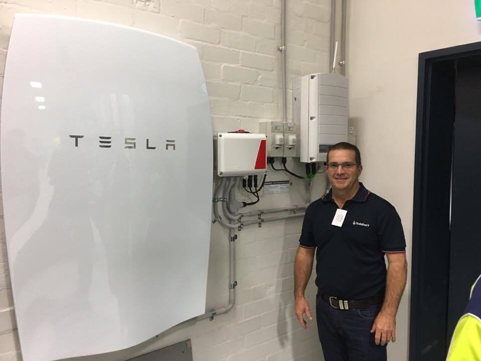 Tesla Powerwall Battery five star power mackay solahart solarheart solarhart