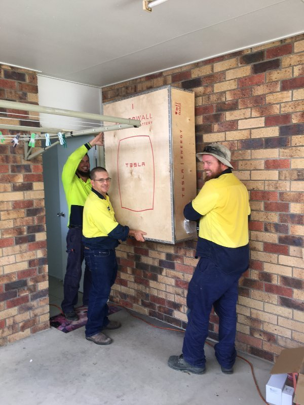 Tesla Powerwall, Tesla battery, Solarhart, Solahart, Solar power Mackay
