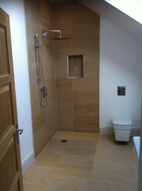 wet room bathroom tile installations
