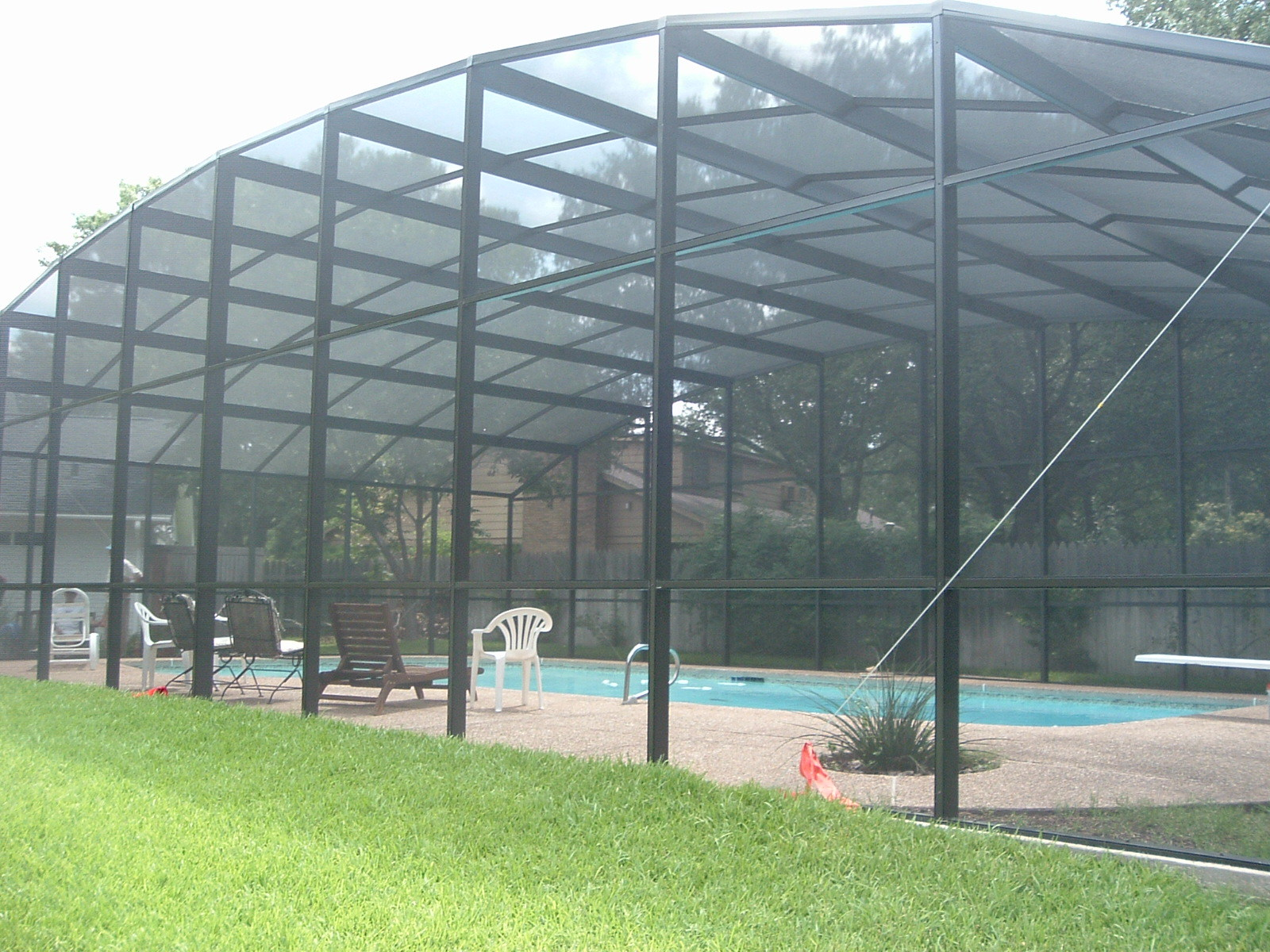 Pool Enclosure outside view