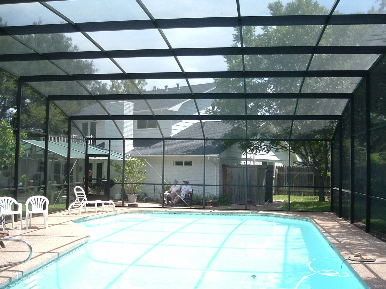Pool Enclosure inside view