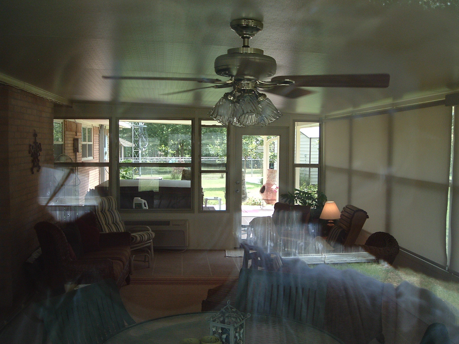 sunroom inside view