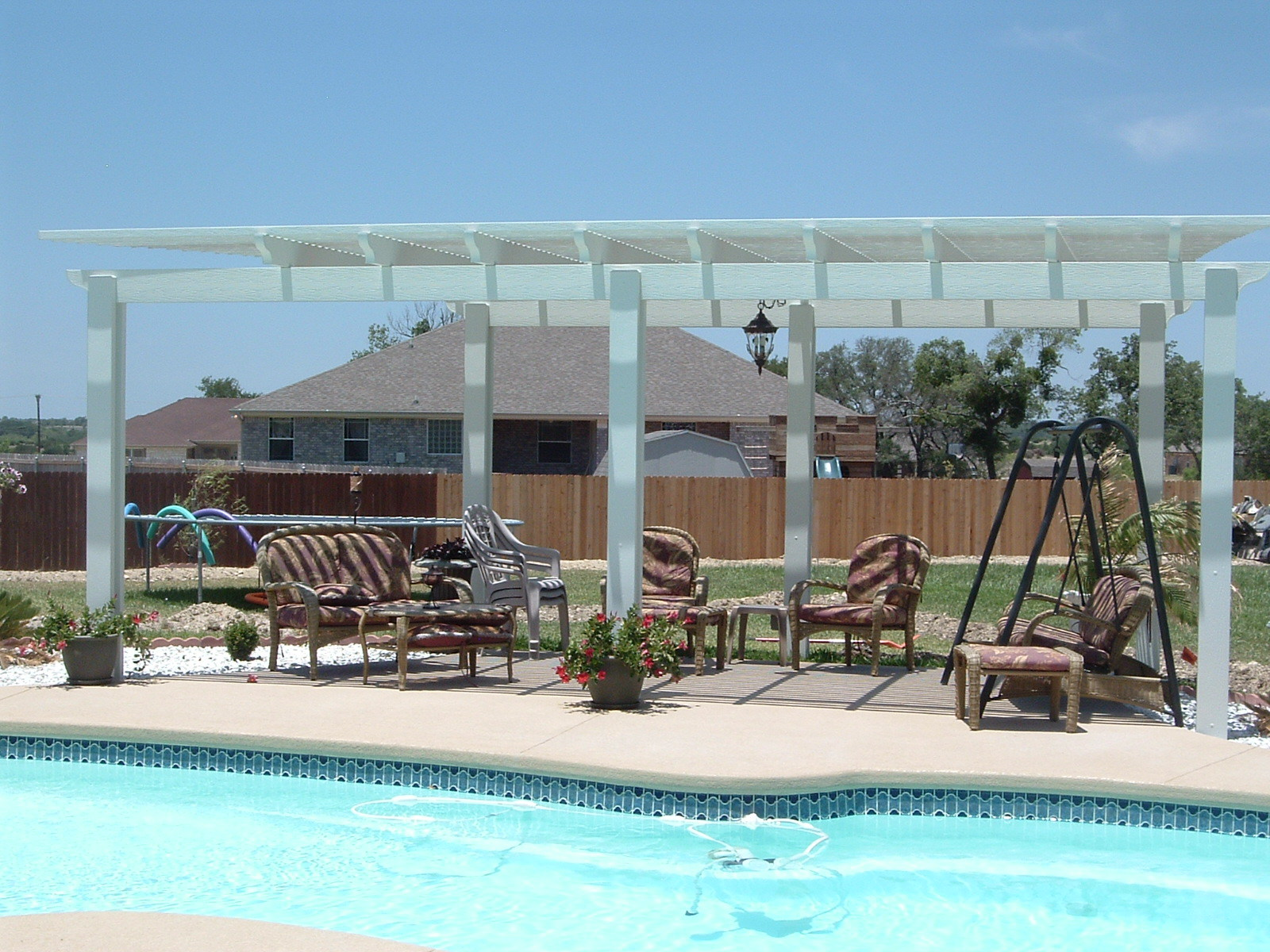 Pergola Pool Side