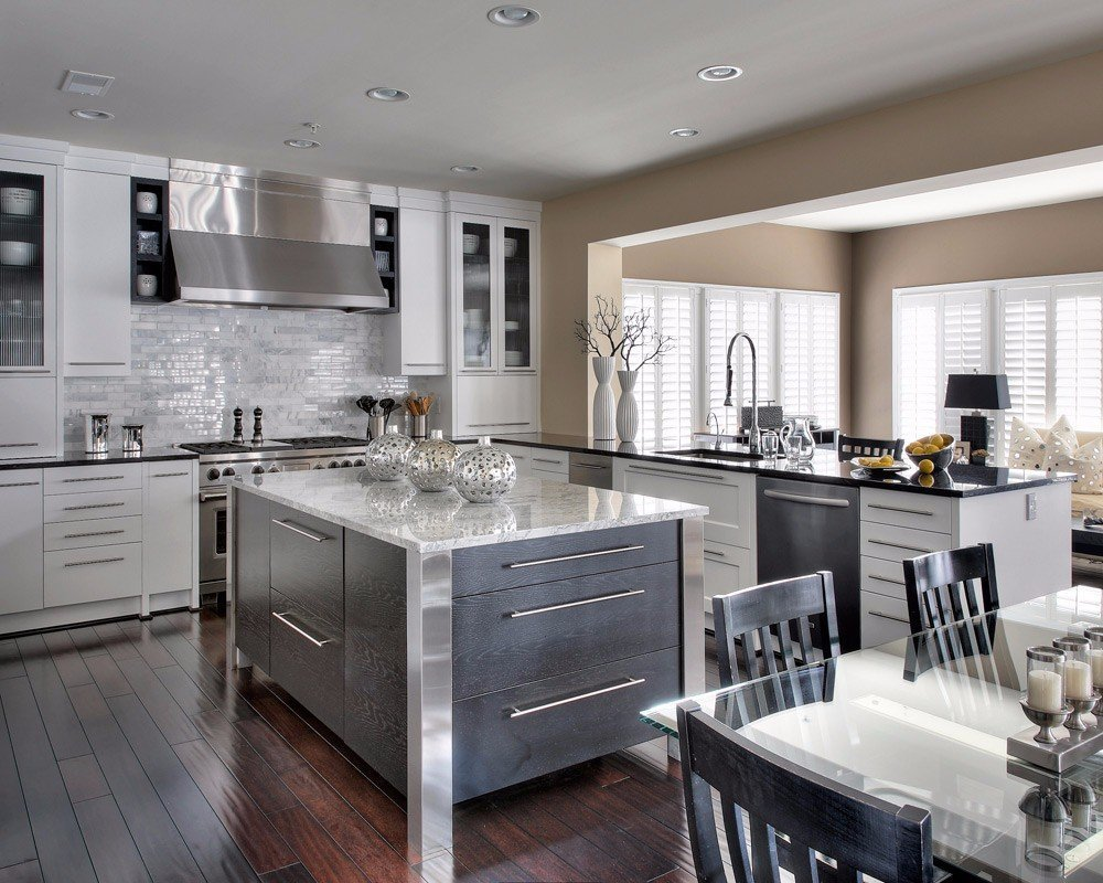 benefits of an open-concept kitchen