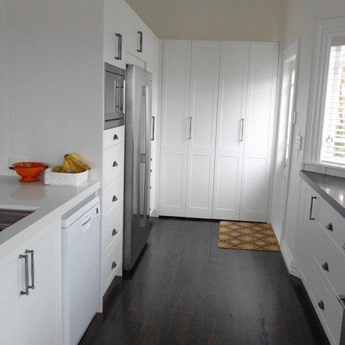 Black and white theme kitchen upgrade