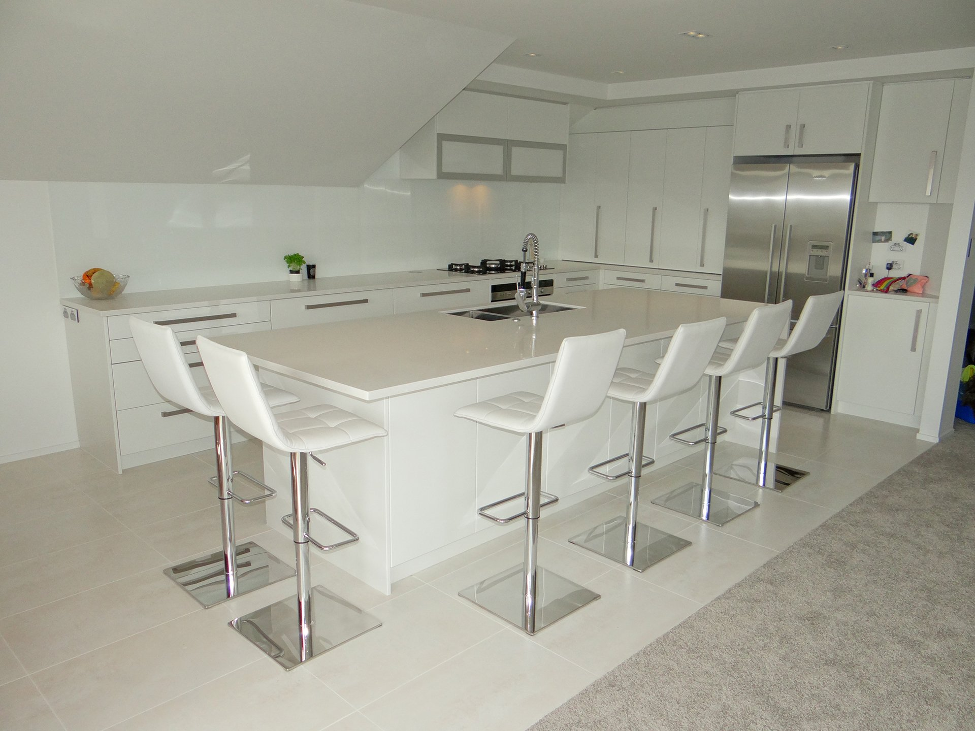 Kitchen in a Takapuna home