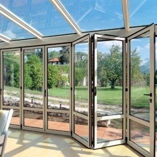 veranda tettoia vetro