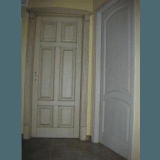 porta legno massello