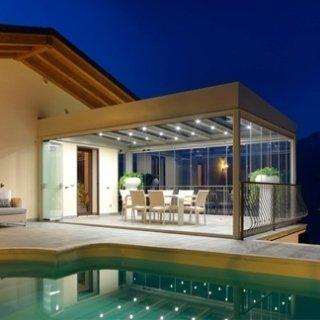 veranda illuminata