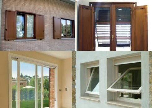 La ditta installa finestre di ogni tipo