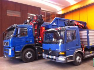 Trasporto materiali non pericolosi, carta, legno, ferro, pneumatici, Calenzano (FI), Firenze, Toscana