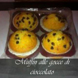 muffin con cioccolato