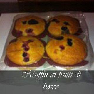muffin con frutti di bosco