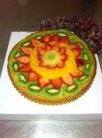 fresh fruit flan