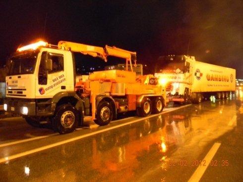 soccorso stradale notturno