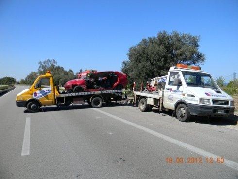 recupero veicoli incidentati