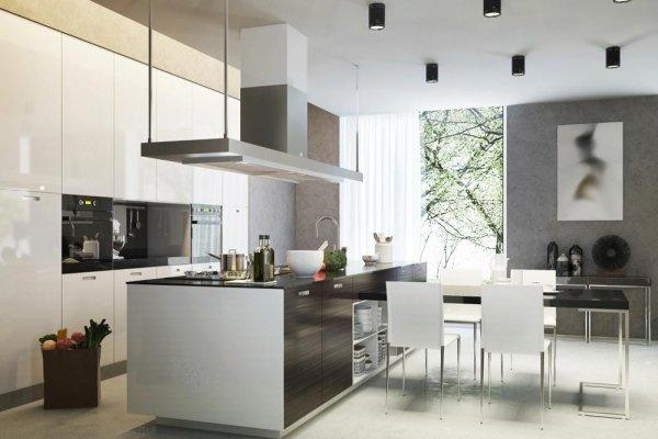 cucina ambientazione chiara