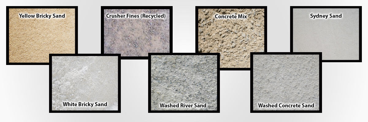 silverdale sand and soil sand types