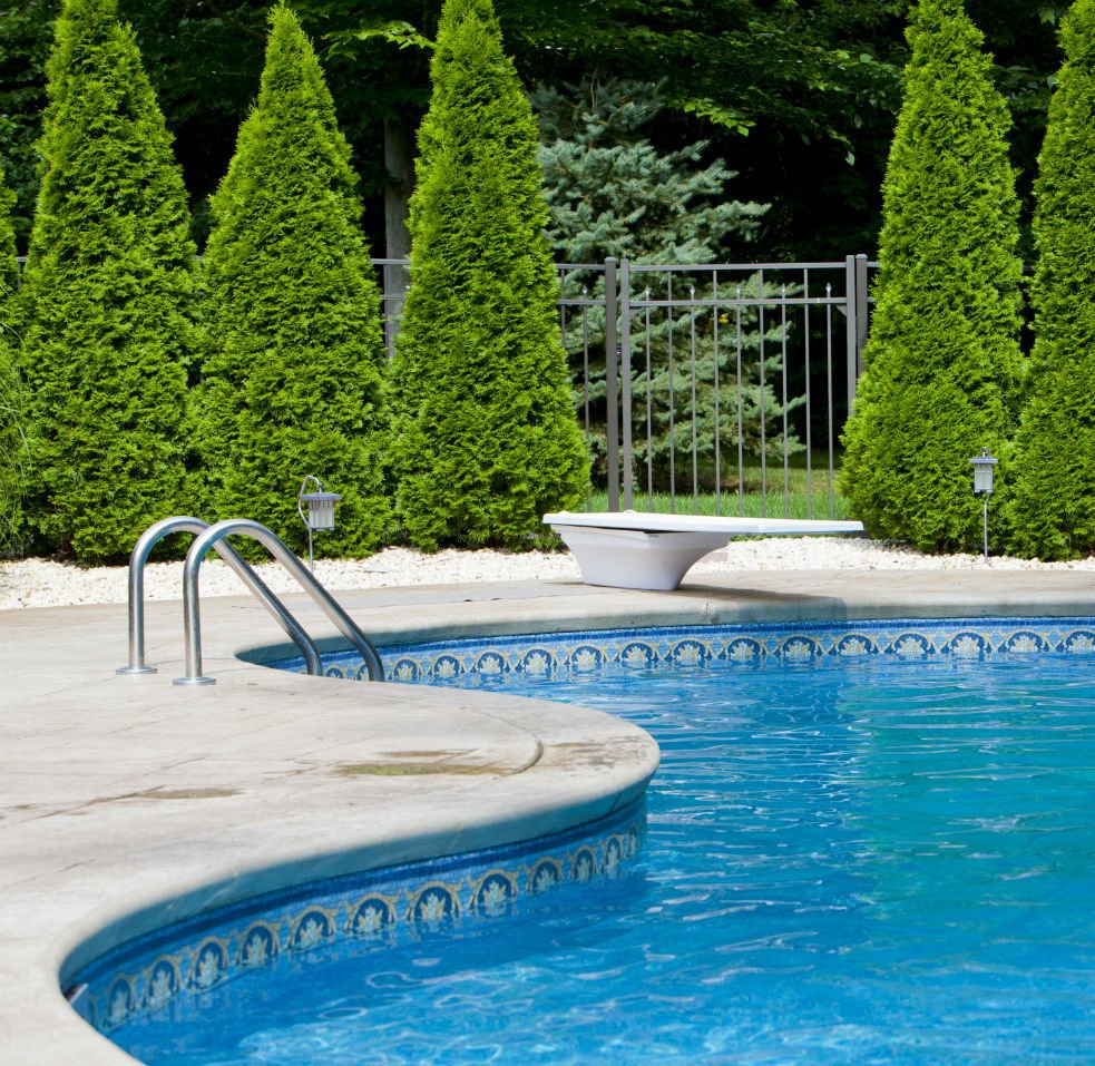 pool and spa supplies used in lagoon pool in Robertsdale, AL