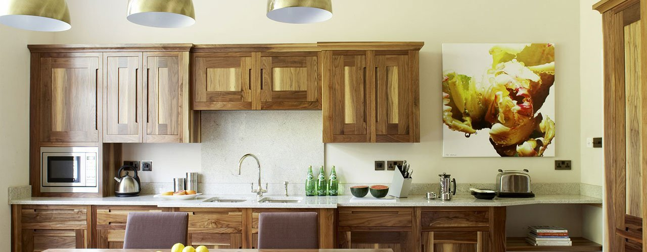 wooden drawers and cupboards for kitchen