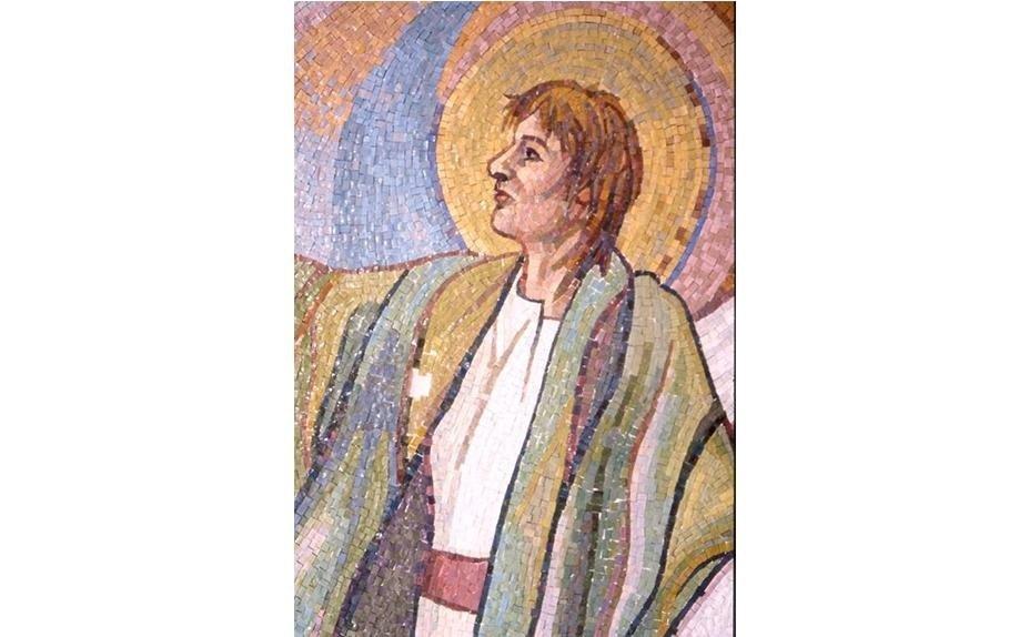 BOSTON CHURCH USA MOSAIC BY ARTIST ANGELA FERRARIS
