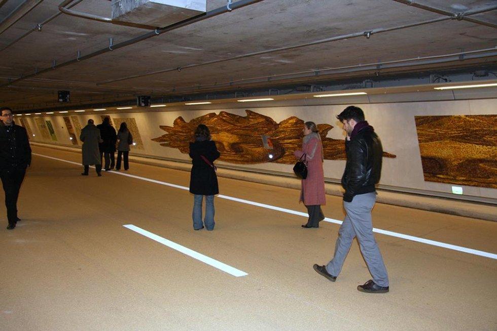 Mosaico Tunnel Parigi Cinzia Pasquali