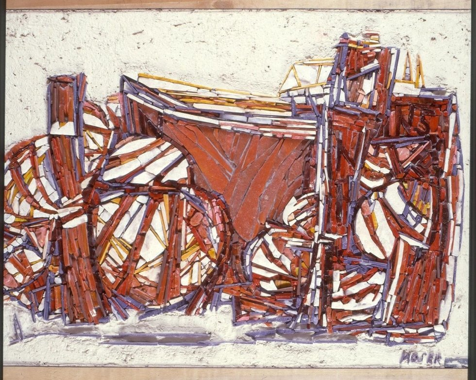 MOSAIC BY ARTIST WILFRID MOSER