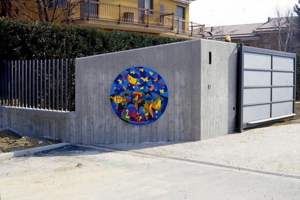 ARTISTA UGO NESPOLO MOSAICO