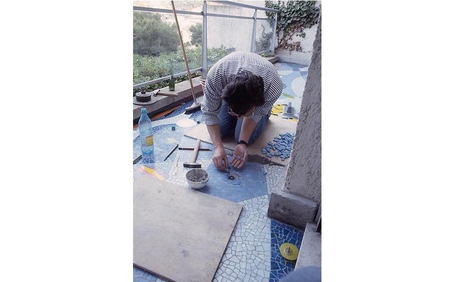 ARTIST UGO NESPOLO MOSAIC