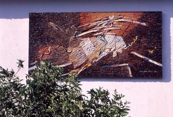 Pomonte Elba Island Luigi Cavallo's House cm 120 x 250