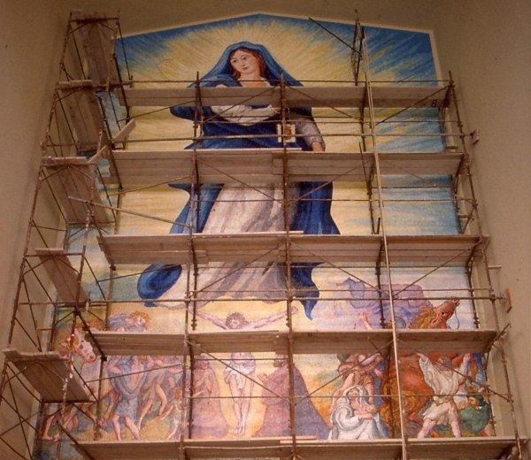Mosaic by Aligi Sassu