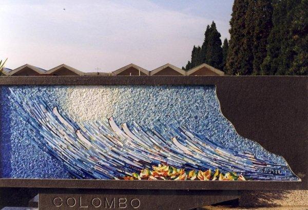 Colombo Mosaic Cem. of Rescaldina 1999 cm 175 x 125 x 55