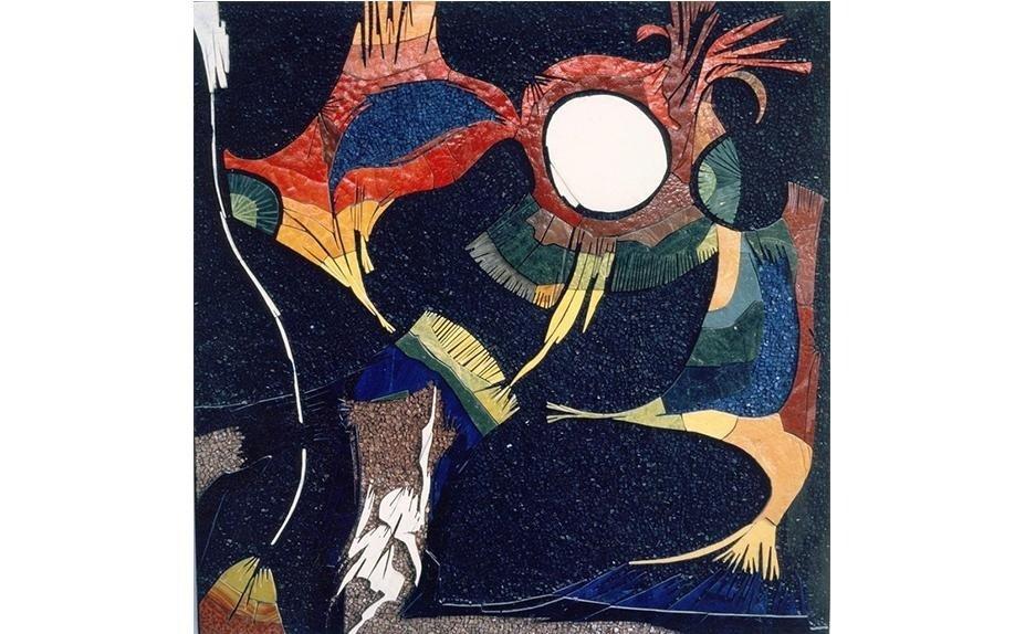 MOSAIC by ARTIST ELVIO BECHERONI