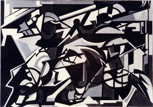 MOSAIC BY ARTIST EMILIO VEDOVA