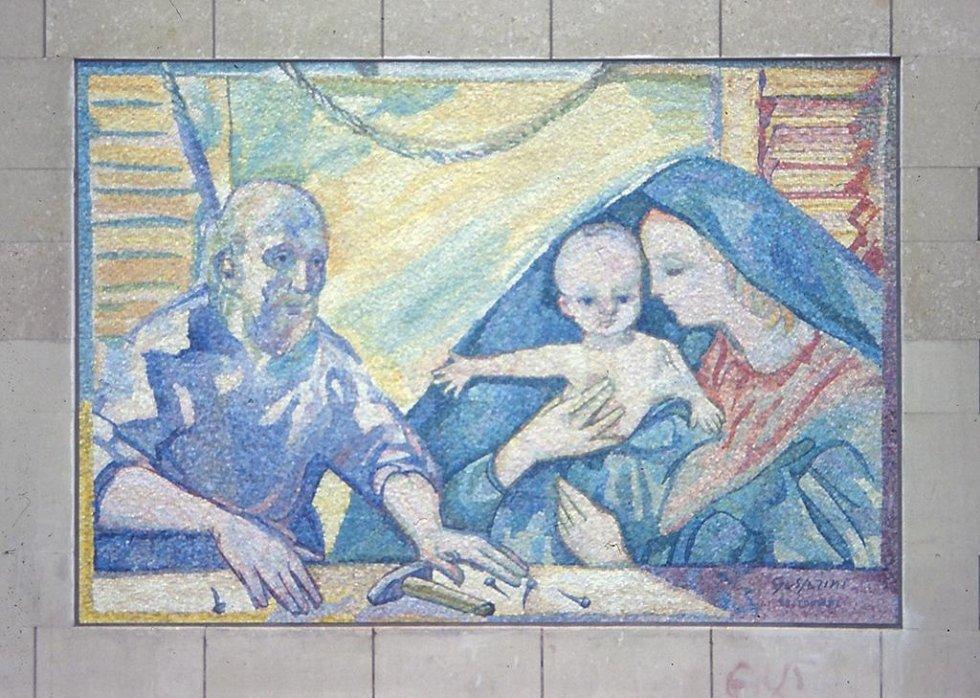 ST. JOSEPH BY GASPARINI