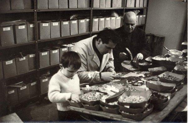 Domenico Cantatore along with Mario Toniutti and a very young new mosaic artist Edward Toniutti